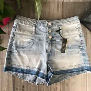 Pants - Hi Waist Shortie Refuge Shorts